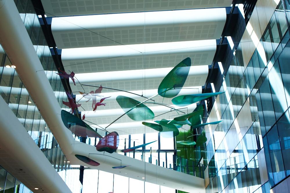 Jade Oakley mobile Sky Garden installation