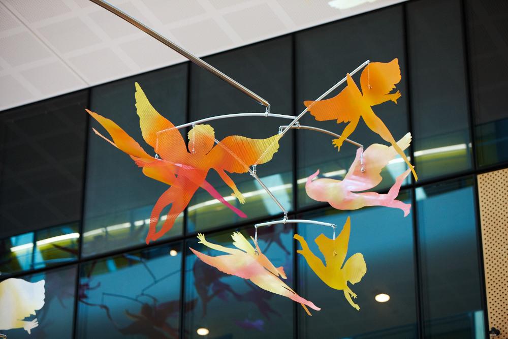 684e27b9f2b ... mobile Sky Garden installation Jade Oakley winged figures Sky Garden  installation ...