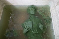 Somerville wax of James Martin cooling in water bath